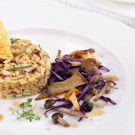 Festive-Risotto-with-Mushrooms-and-Fresh-Parmesan-Chips