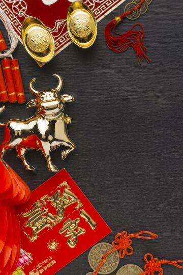 азиатска нова година вол 2021
